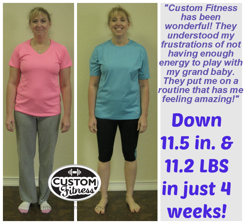 Amarillo Personal Trainer Custom Fitness Huge Success Story
